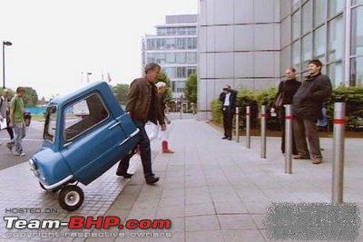 Worlds Smallest Car Top Gear