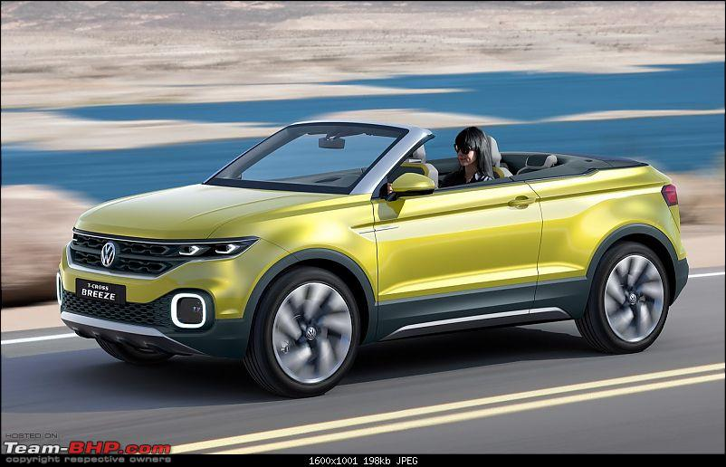 Rumour: Volkswagen T Cross. Compact Crossover based on Polo-vwtcrossbreezeconcept1.jpeg