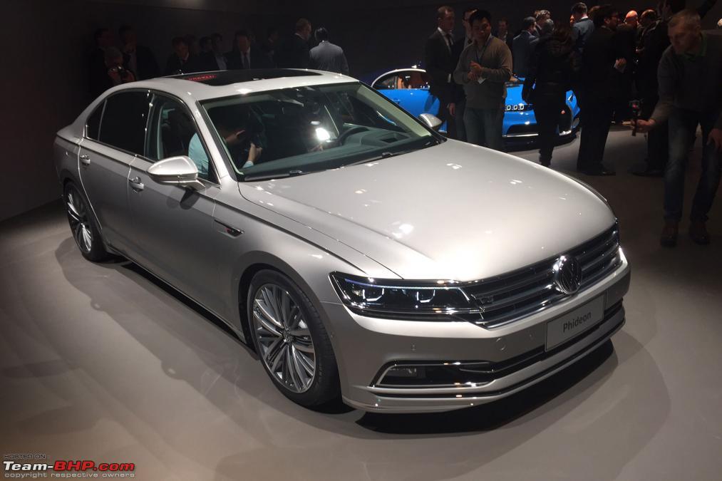 phideon volkswagens super luxury sedan  china team bhp