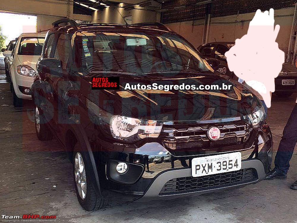 Fiat S Entry Level Hatchback The X1h Brazil Launch In 2016 Team Bhp