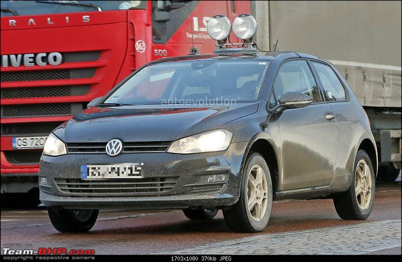Volkswagen T Cross - A Compact Crossover based on the Polo-spyshotspolosuvtestmuleisajackedupgolf_1.jpg