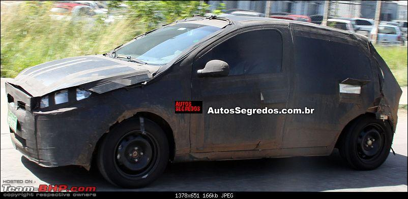 Fiat begins testing the next-generation Punto. EDIT: Named Argo-flagra_novo_fiat_punto_4.jpg