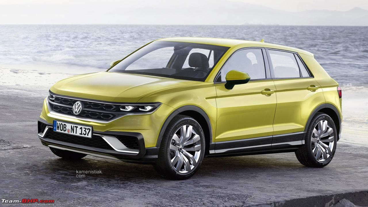 Volkswagen T Cross A Compact Crossover Based On The Polo