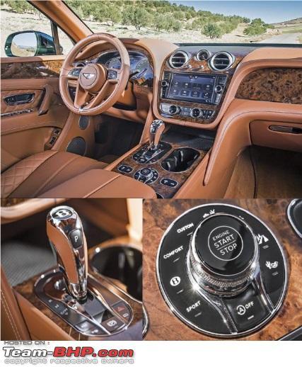 Bentley EXP 9 F Concept SUV. EDIT, Named Bentayga
