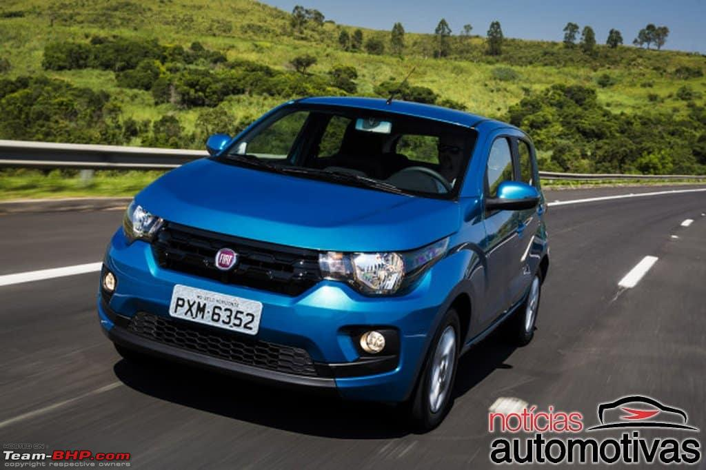 Fiat's entry level hatchback - The X1H. Brazil launch in ...