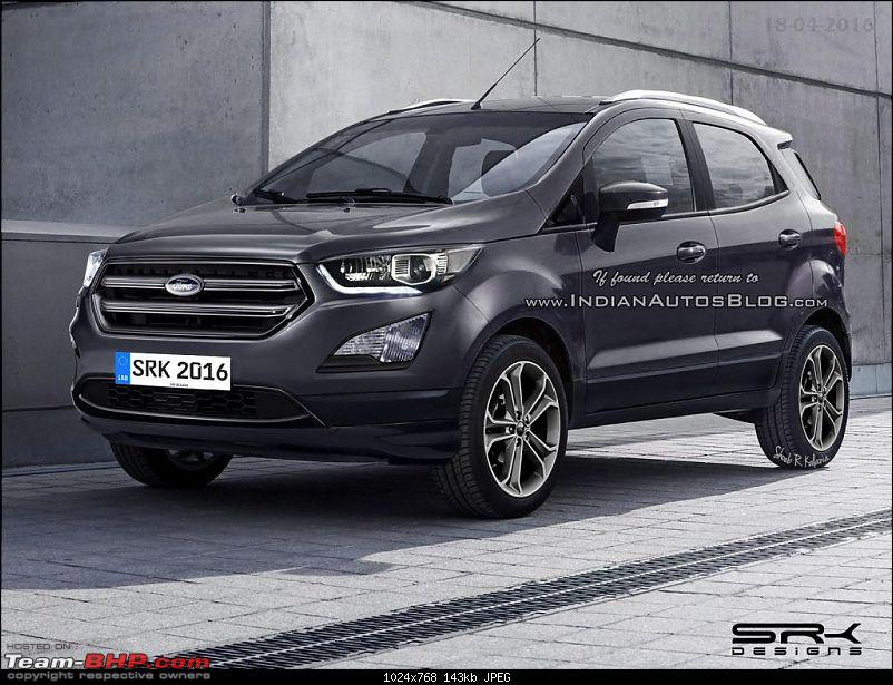 Scoop! 2017 Ford EcoSport facelift spotted testing...possibly with AWD-2017fordecosportfaceliftrendering1024x768.jpg