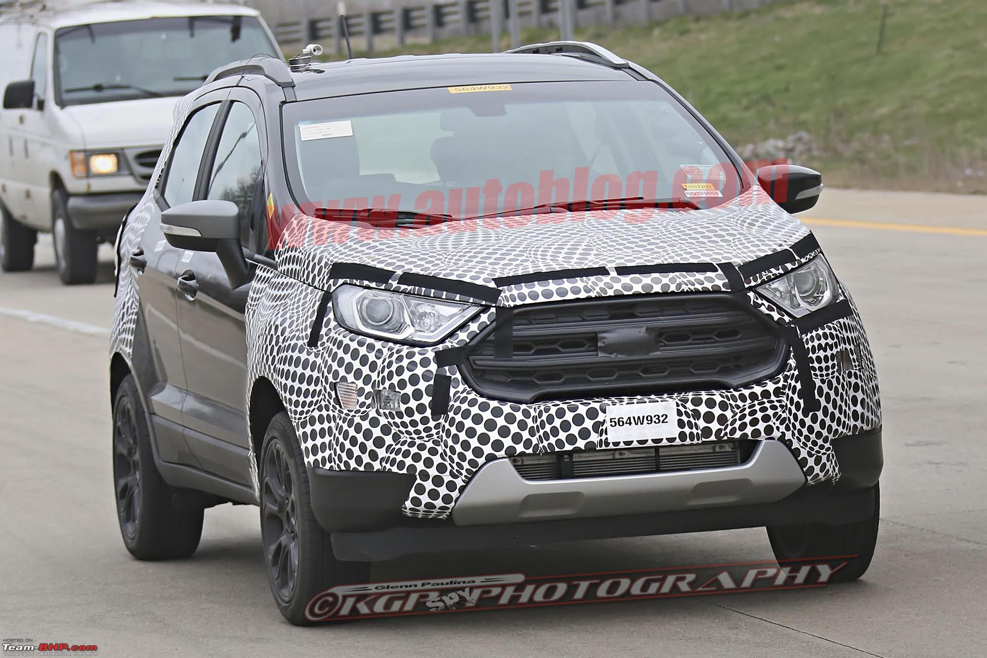 The 2017 ford ecosport facelift fordecosportspies011 jpg
