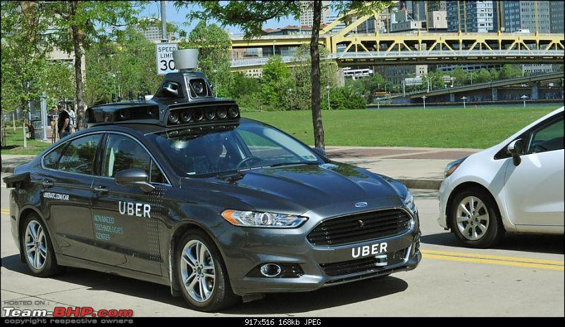 Google, Ford, Uber & others form coalition on Self-Driving Cars-2016fordfusionhybriduberautonomouscar.jpg