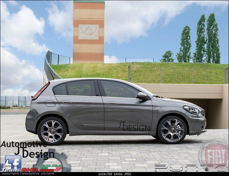 Fiat begins testing the next-generation Punto. EDIT: Named Argo-fiatpunto2017lato0621024x769.jpg