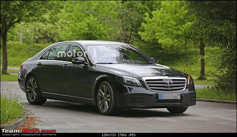 Mercedes to become first automaker to offer particulate filters on petrol engines-mercedessclassfaceliftspyphoto.jpg