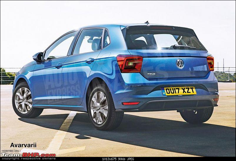 Details of the next-generation Volkswagen Polo emerge. EDIT: Unveiled in Berlin-volkswagen_polo__rear_watermarked.jpg