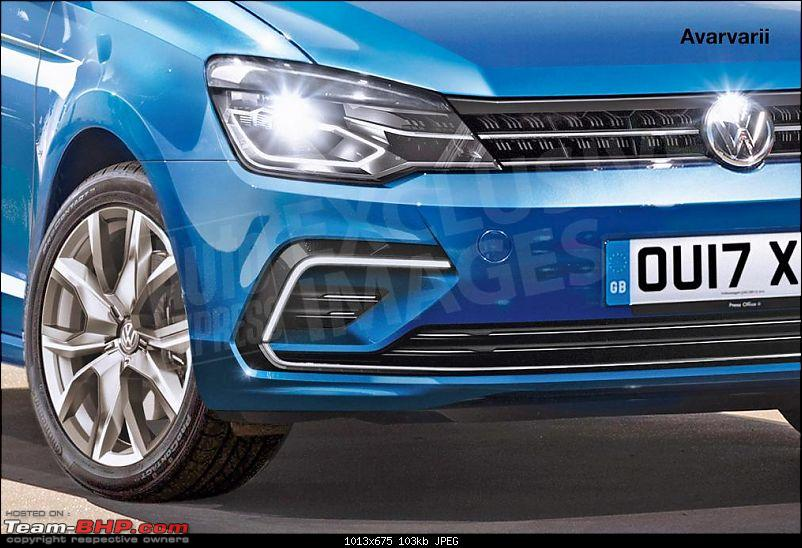 Details of the next-generation Volkswagen Polo emerge. EDIT: Unveiled in Berlin-volkswagen_polo__front_detail_watermarked.jpg