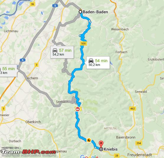 Where Is The Autobahn In Germany Map.Car Rentals In Germany The Autobahn And Schwarzwaldhochstrasse