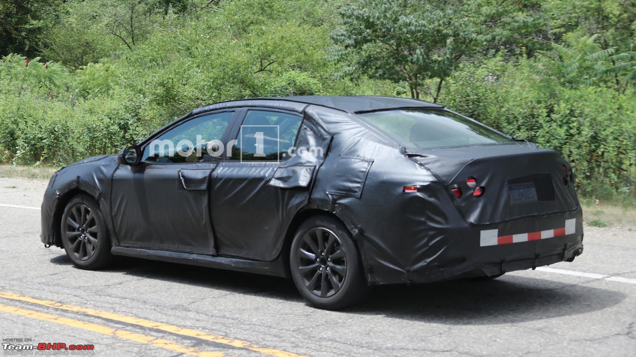 Next Gen 2017 Toyota Camry Edit Revealed At Detroit Auto Show 2018toyotacamryspyphotos4