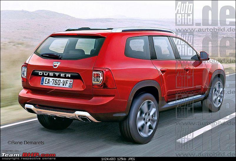 Next-generation Renault / Dacia Duster caught testing-2017daciaduster7seaterrenderingrearthreequarter.jpg