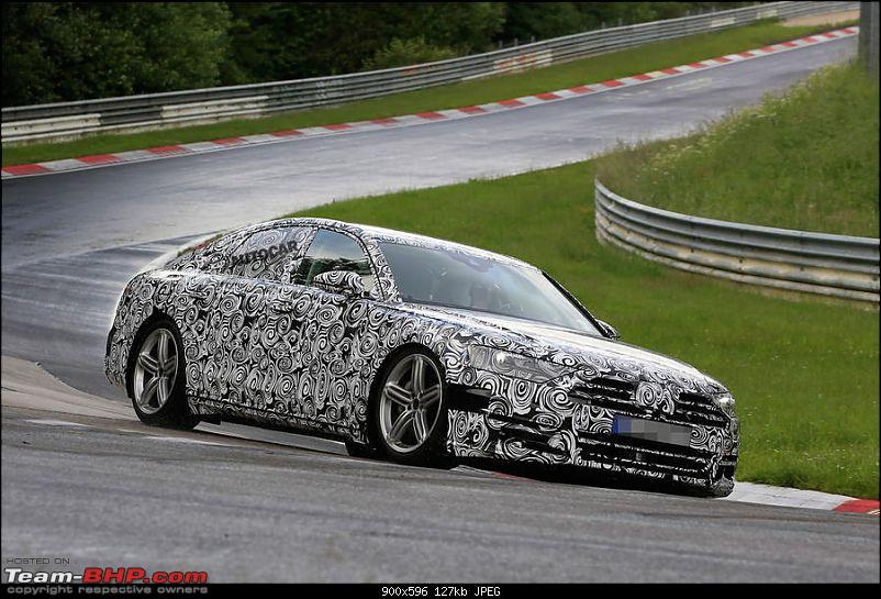 Rumour: Audi A8 to be world's first autonomous car on sale-2017audia8.jpg