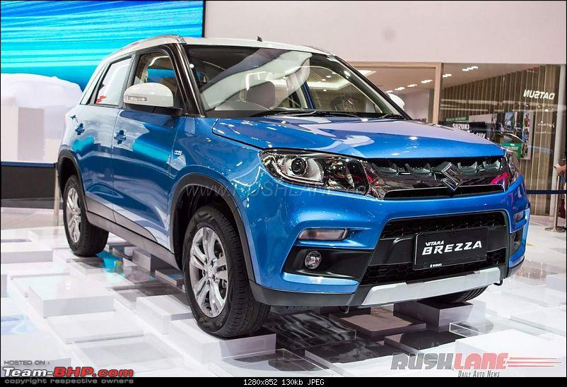 India-made Suzuki Vitara Brezza AT showcased in Indonesia-marutivitarabrezzaamt2016indonesiagiaas2.jpg
