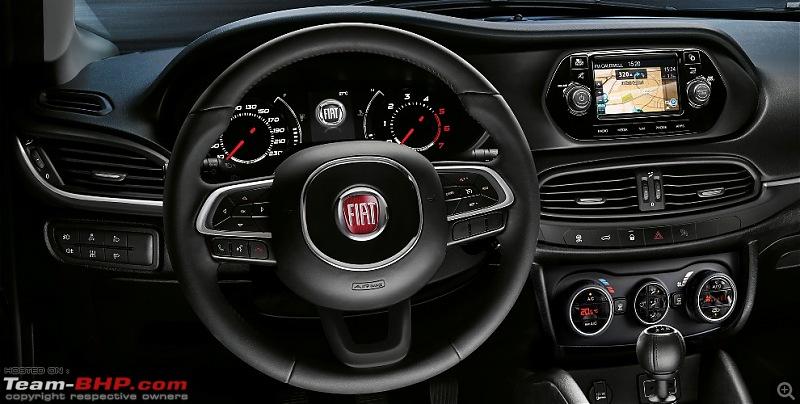 Fiat Tipo (Egea hatchback) spied-infotainment.jpg