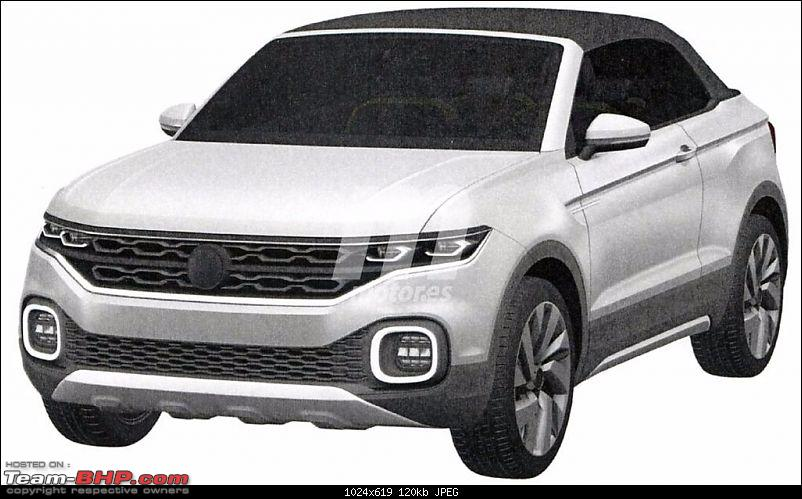 Volkswagen T Cross - A compact crossover based on the Polo. EDIT: Now unveiled-volkswagenpolosuvpatentestcrossbreeze201630662_1.jpg