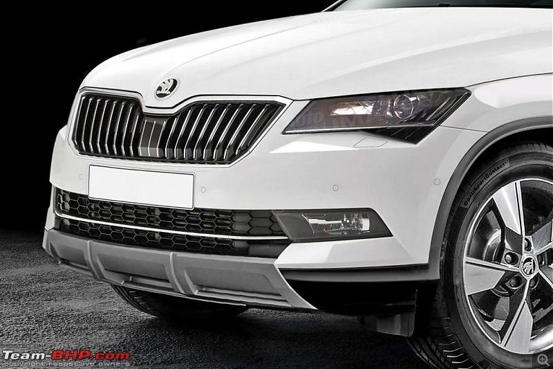 Skoda plans coupe version of the Kodiaq SUV-skodasuvcoupefront.jpg