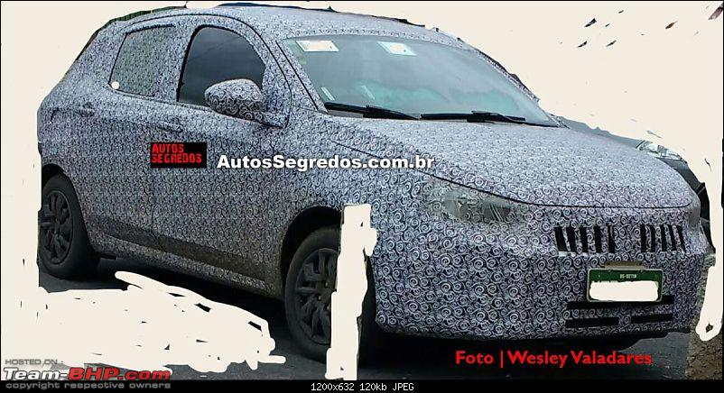 Fiat begins testing the next-generation Punto. EDIT: Named Argo-flagrafiatx6h11.jpg