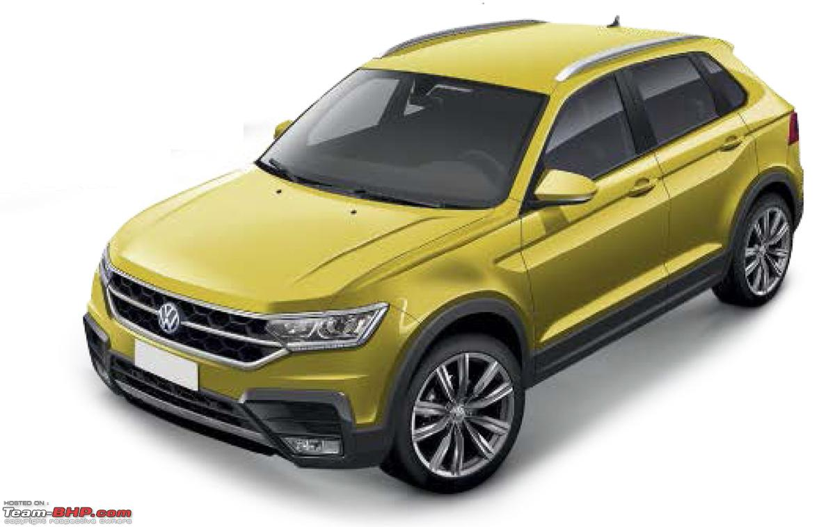 rumour volkswagen t cross compact crossover based on polo page 2 team bhp. Black Bedroom Furniture Sets. Home Design Ideas