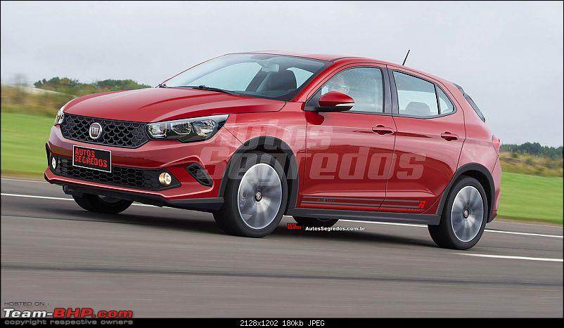 Fiat begins testing the next-generation Punto. EDIT: Named Argo-projecaofiatx6hsporting1.jpg