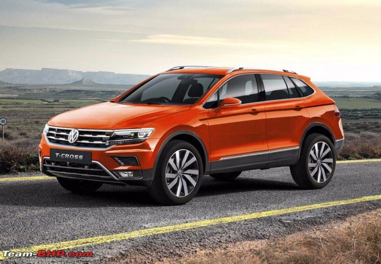 rumour volkswagen t cross compact crossover based on polo page 3 team bhp. Black Bedroom Furniture Sets. Home Design Ideas