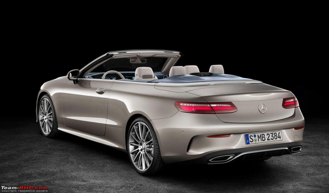 the 2017 mercedes e class cabriolet team bhp. Black Bedroom Furniture Sets. Home Design Ideas