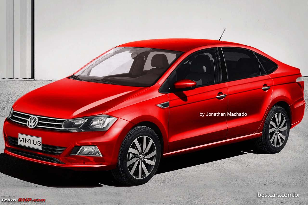 2018 volkswagen vento. brilliant vento the 2018 vw polo sedan vento replacement edit called virtusvwvirtus for volkswagen vento 0
