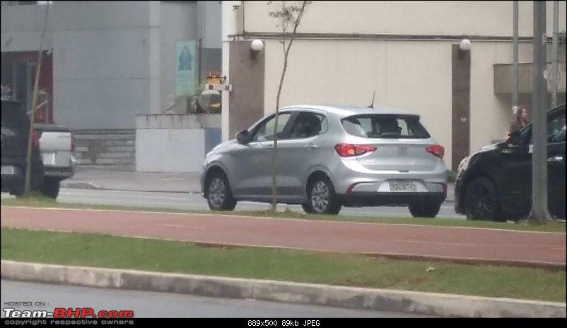 Fiat begins testing the next-generation Punto. EDIT: Named Argo-fiatargodrive10.jpg