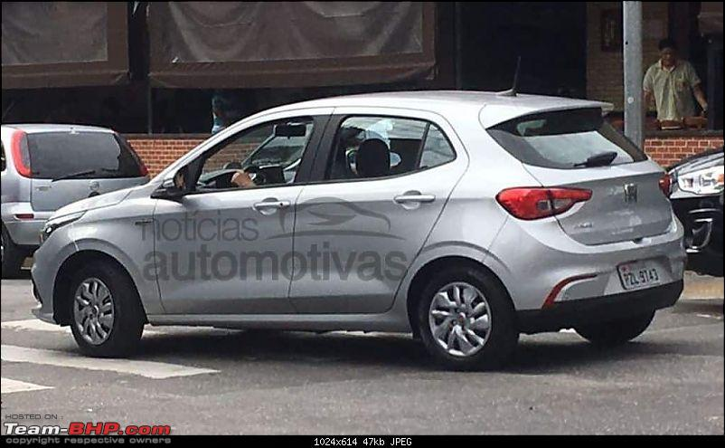 Fiat begins testing the next-generation Punto. EDIT: Named Argo-fiatargodriveflagra3.jpg