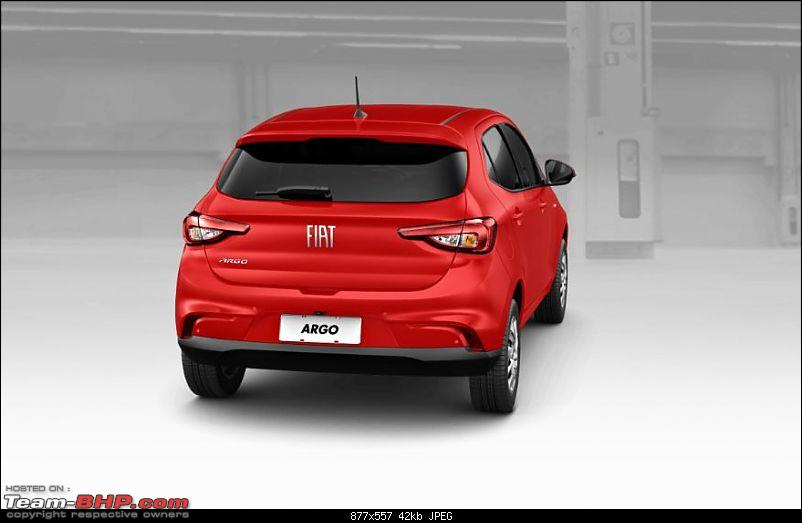 Fiat begins testing the next-generation Punto. EDIT: Named Argo-11.jpg