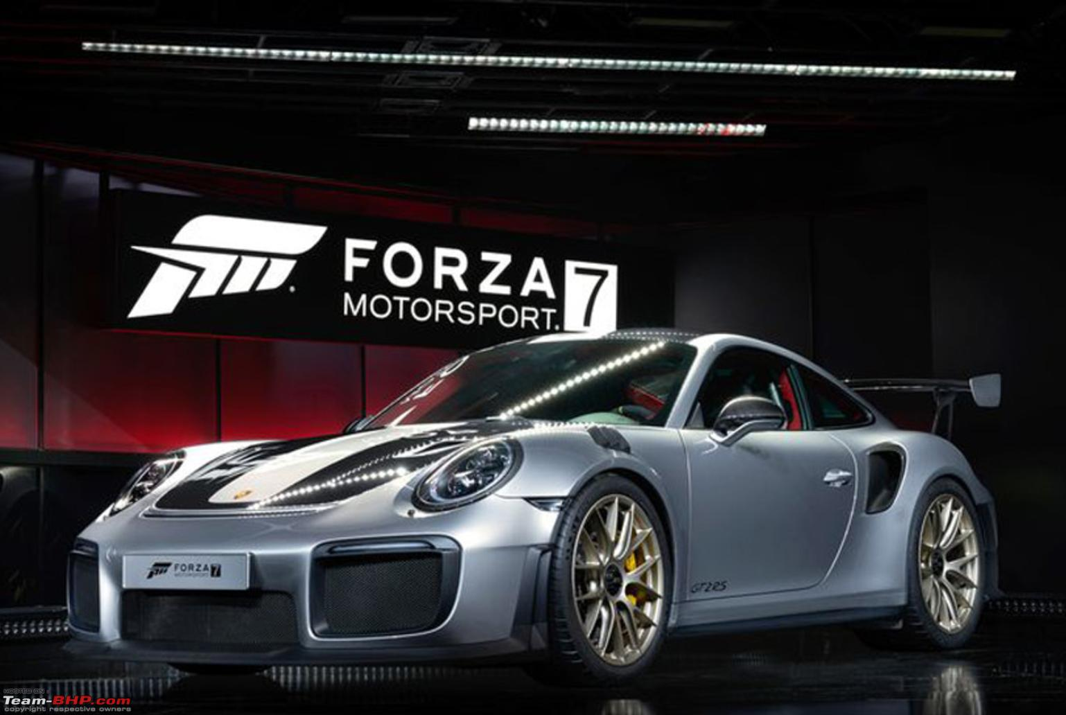 2018 porsche 911 gt2 rs revealed team bhp. Black Bedroom Furniture Sets. Home Design Ideas