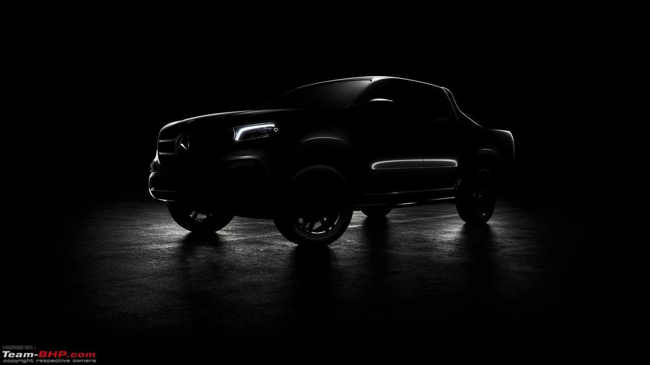 Mercedes Benz X Class Pick Up Truck Concept Unveiled
