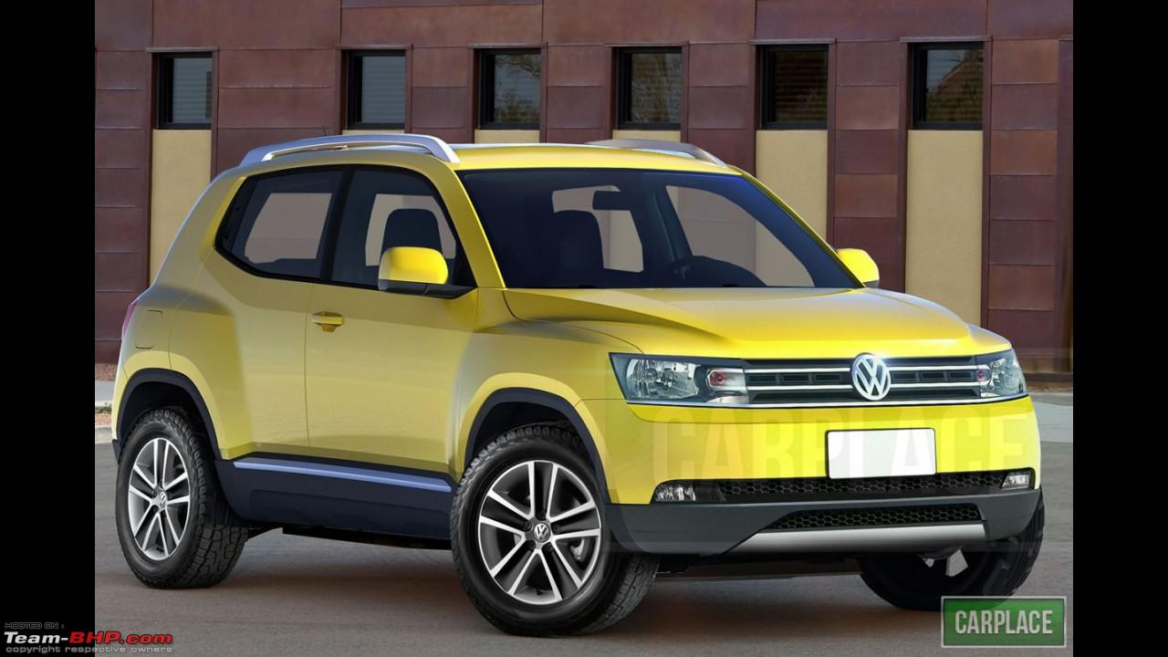rumour vw 39 s smallest crossover the t track team bhp. Black Bedroom Furniture Sets. Home Design Ideas