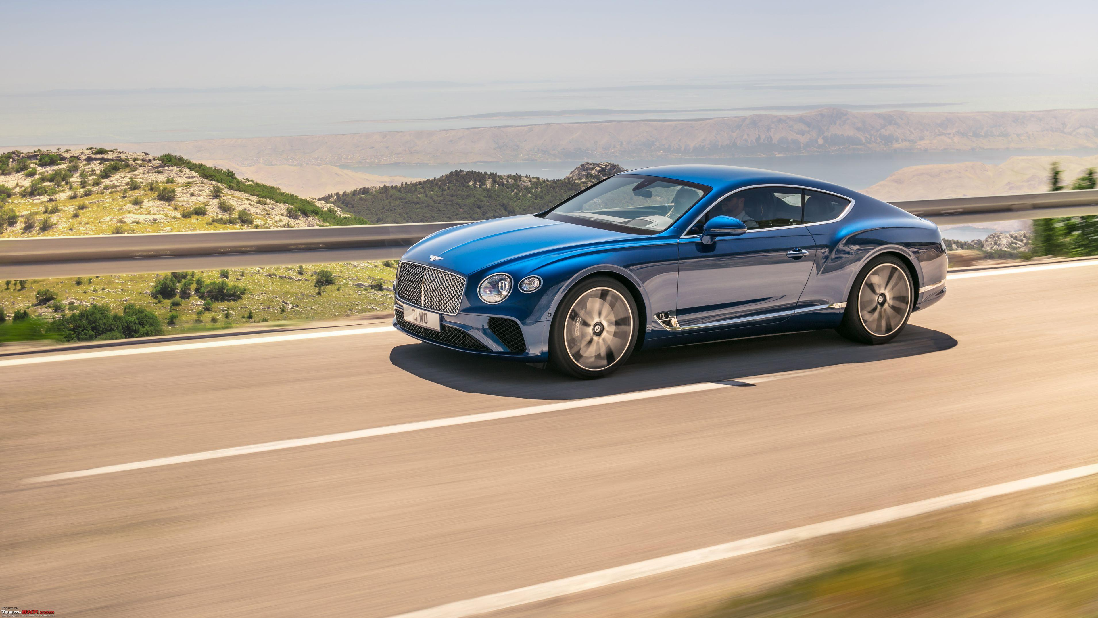 The 2018 Bentley Continental GT
