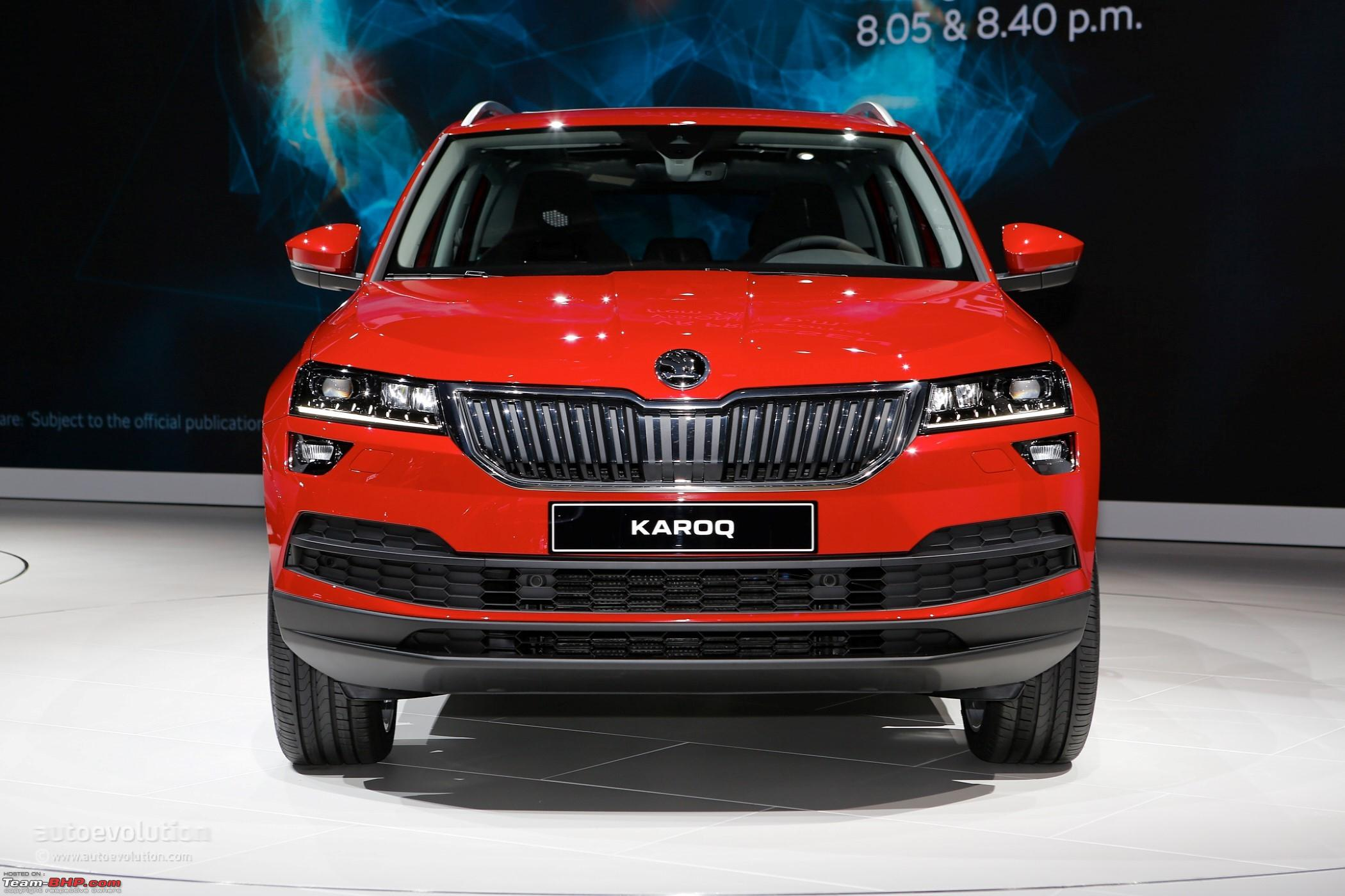 next gen skoda yeti coming in 2018 edit named karoq page 6 team bhp. Black Bedroom Furniture Sets. Home Design Ideas