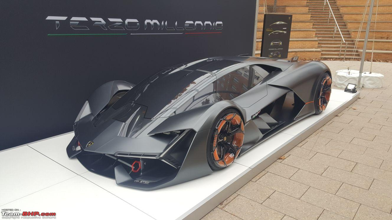 lamborghini terzo millennio an electric self driving self healing car from the bull team bhp. Black Bedroom Furniture Sets. Home Design Ideas