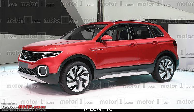 Volkswagen T Cross - A compact crossover based on the Polo. EDIT: Now unveiled-volkswagenpolosuvrendering.jpg