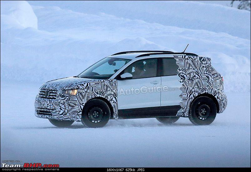 Volkswagen T Cross - A compact crossover based on the Polo. EDIT: Now unveiled-volkswagentcrossspyphotos07.jpg