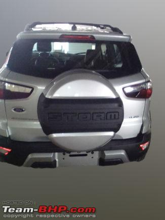 Ford Ecosport Storm Awd Leaked Team Bhp