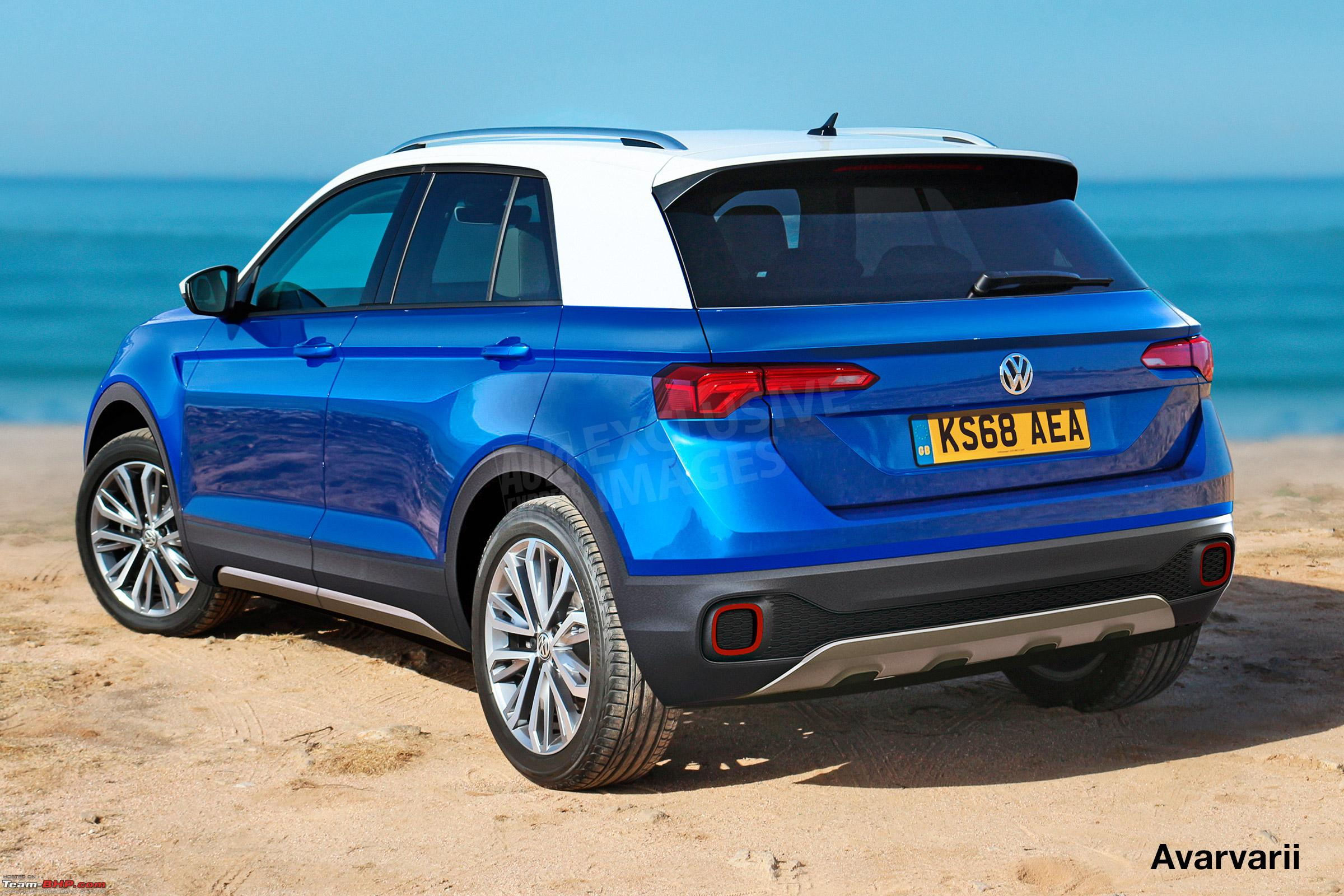 volkswagen t cross a compact crossover based on the polo edit now unveiled page 5 team bhp. Black Bedroom Furniture Sets. Home Design Ideas