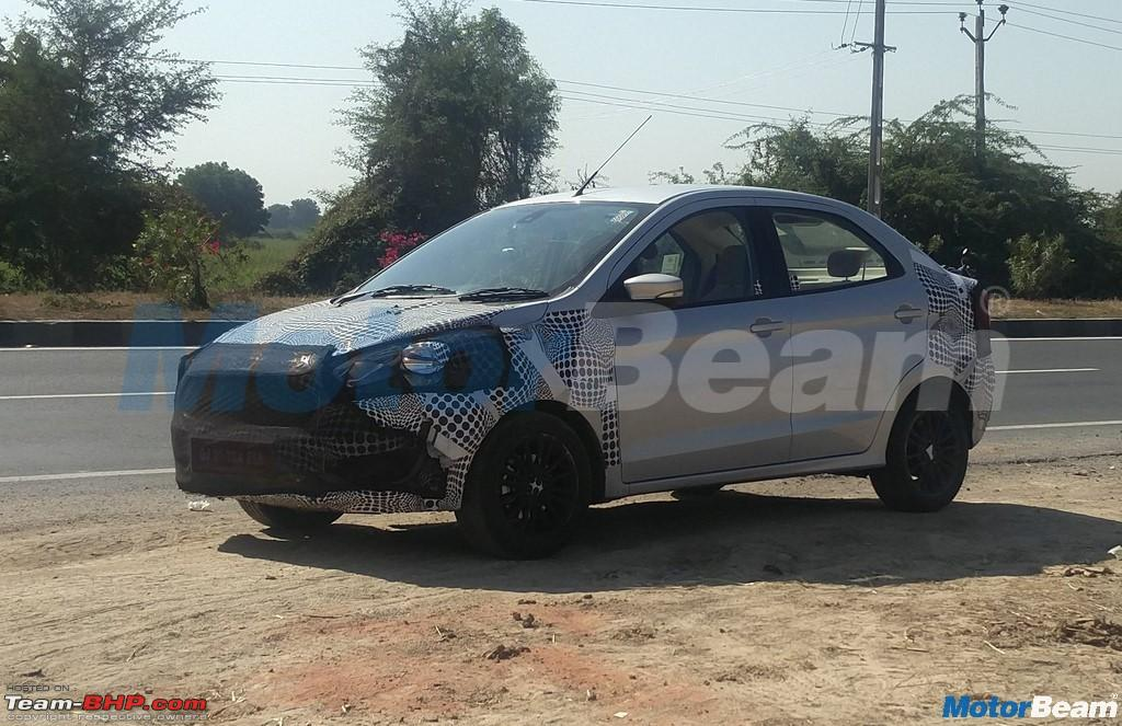 2019 ford ka aka figo spied on test page 2 team bhp. Black Bedroom Furniture Sets. Home Design Ideas