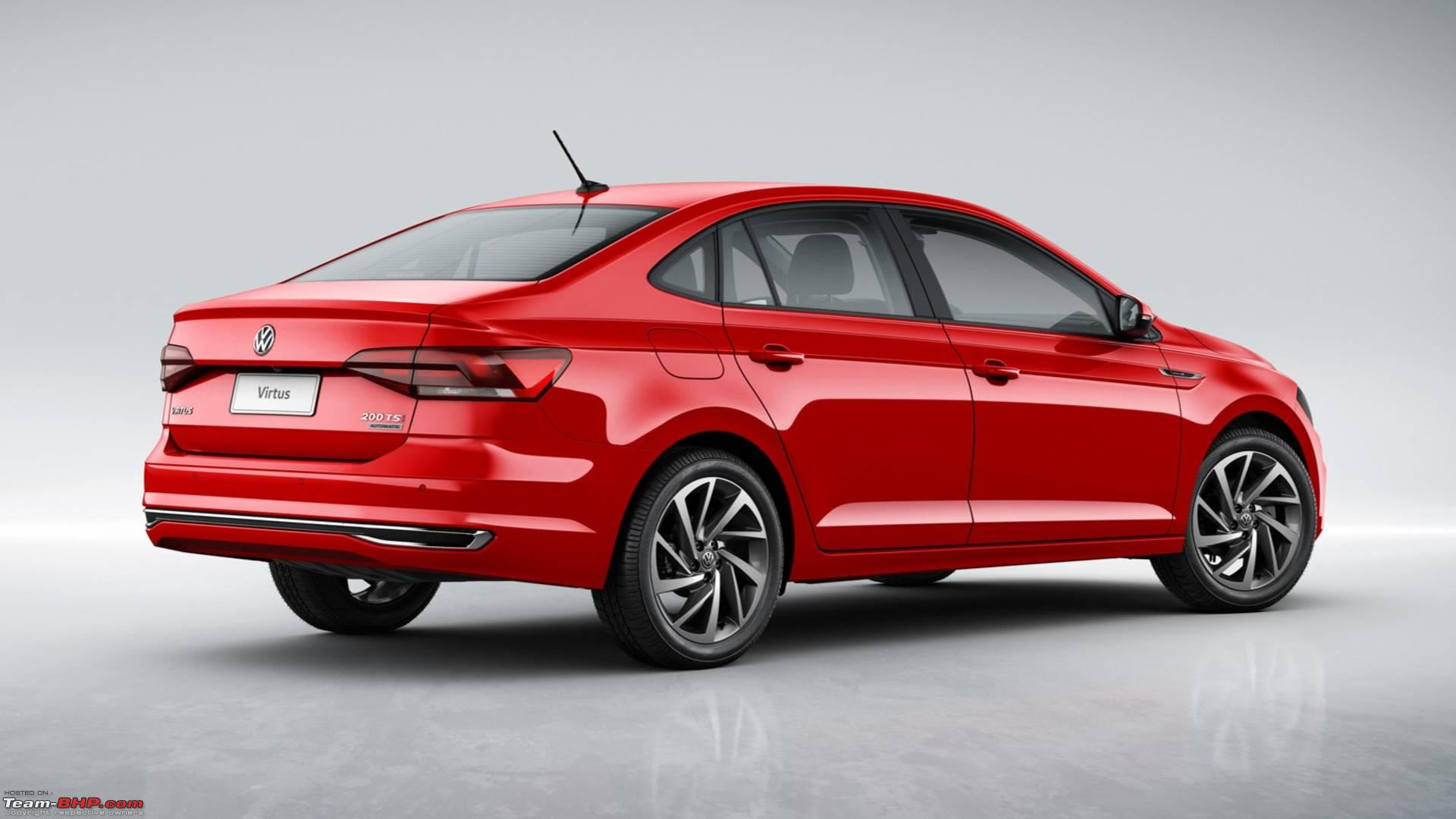 Virtus, the 2018 VW Polo sedan (Vento replacement). EDIT ...