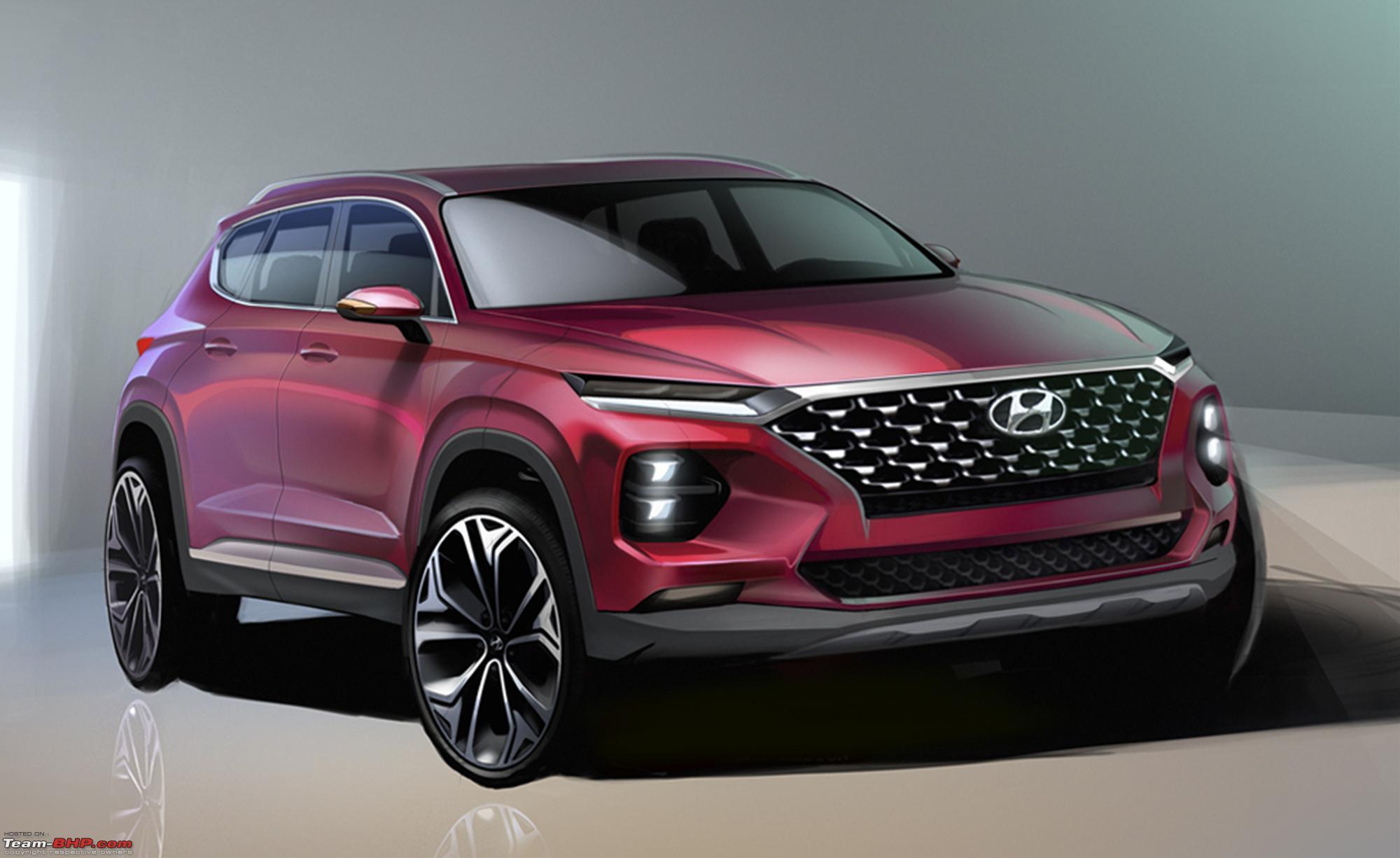 The 4th Gen Hyundai Santa Fe Santa Fe_rendering Image 1.