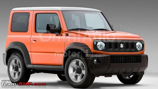 new suzuki jimny in 2018 page 11 team bhp. Black Bedroom Furniture Sets. Home Design Ideas