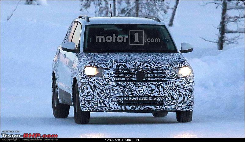 Volkswagen T Cross - A compact crossover based on the Polo. EDIT: Now unveiled-2018volkswagentcross1cuvspyphoto.jpg