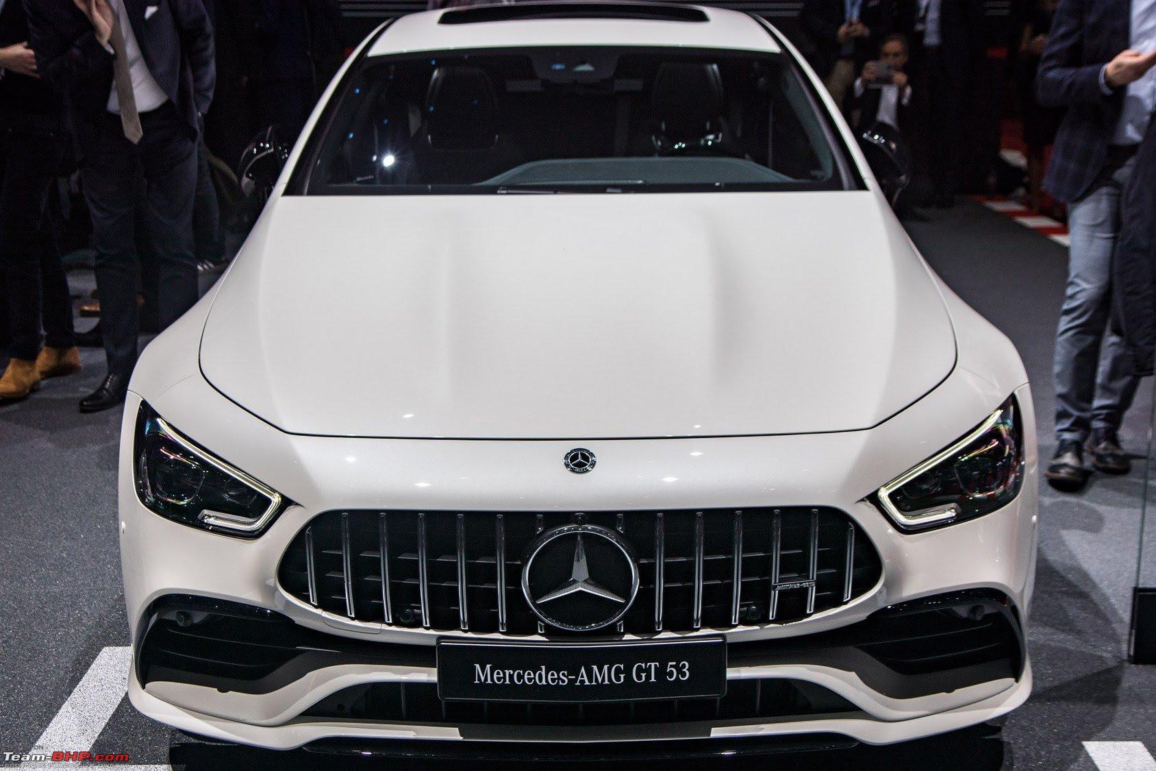 Mercedes Amg Gt 4 Door Coupe Unveiled Geneva Team Bhp