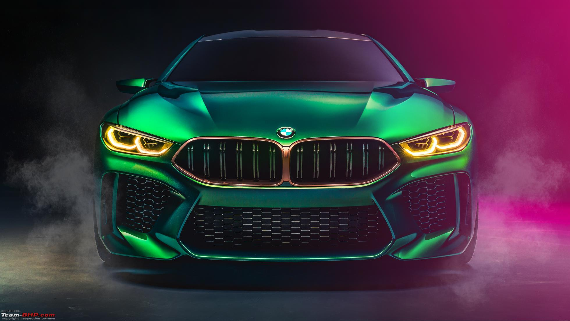 BMW M8 Gran Coupe concept unveiled at the Geneva Motor ...
